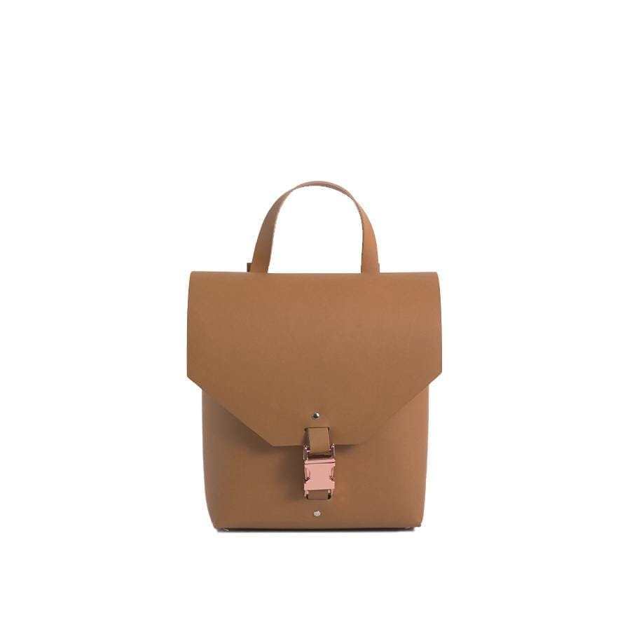 Caramel Reclaimed Leather Backpack