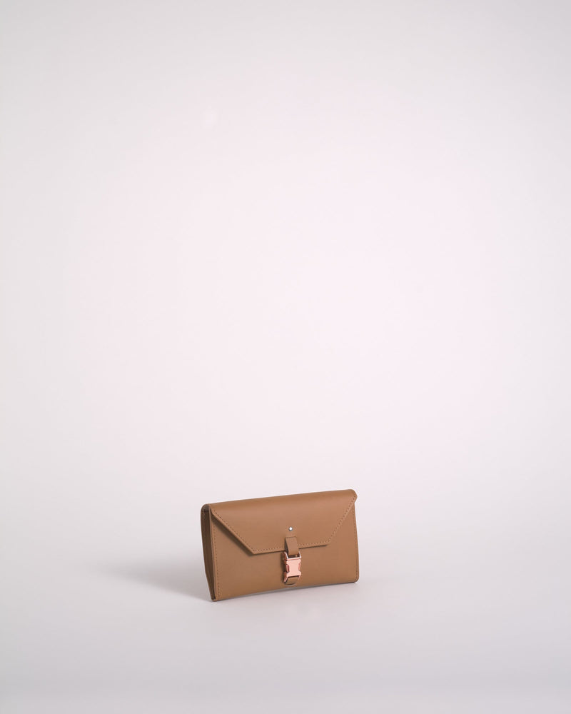 Caramel Reclaimed Leather Wallet