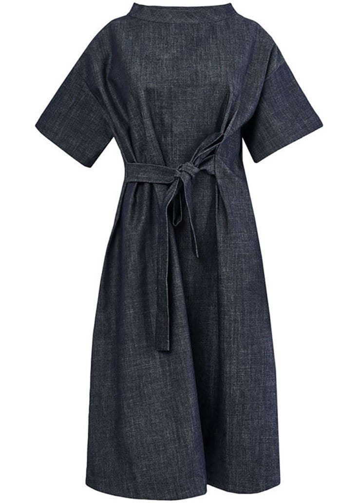 Organic Blue Denim Dress