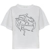 D the brand Organic White Oversize T-Shirt SlowCo
