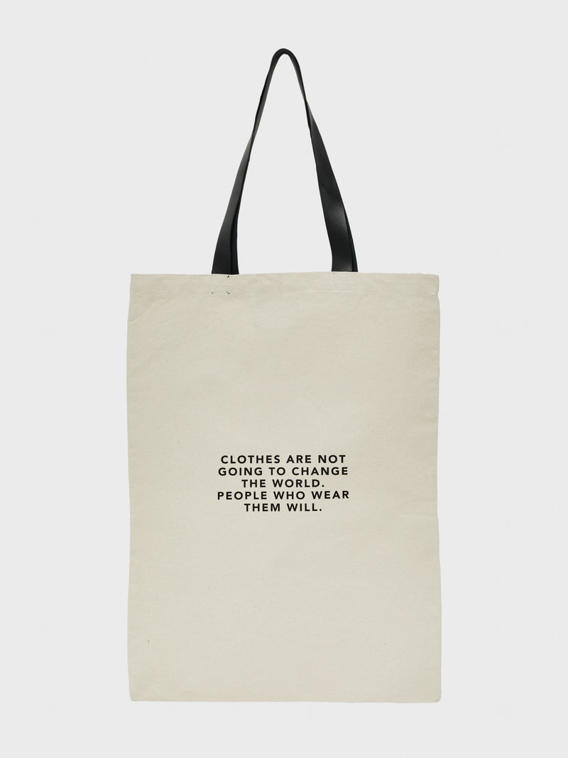Organic White Tote Bag