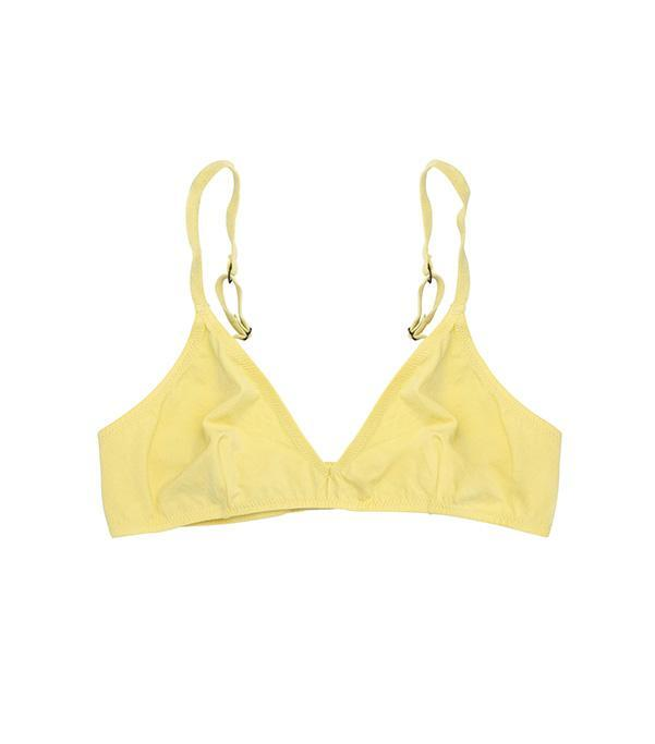 Organic Lemon Triangle Bra