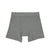 Organic Grey Boxer Shorts
