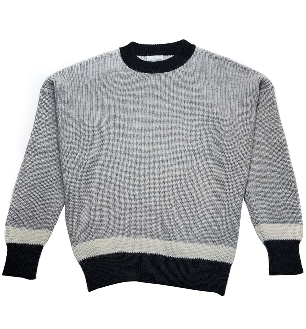 Grey Alpaca Jumper