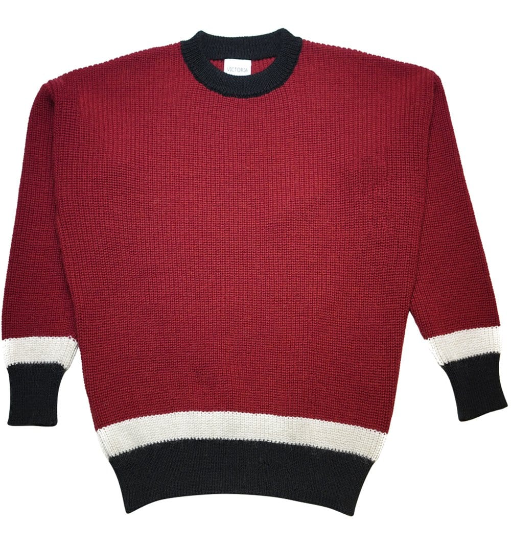 Red Alpaca Jumper