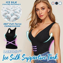Load image into Gallery viewer, LaxChic™ Ice Silk Supportive Tank