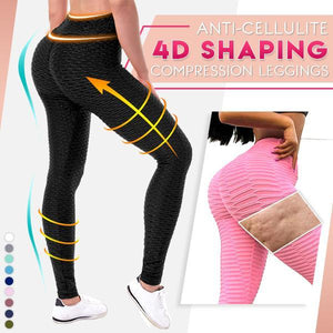 Anti-Cellulite 4D Shaping Compression Leggings