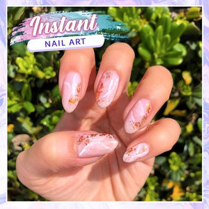 Nailtural™ Instant Marble Foil Stickers