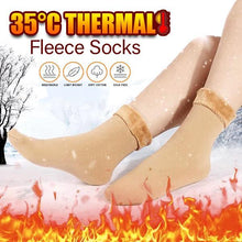 Load image into Gallery viewer, 35°C Lava Thermal Fleece Socks
