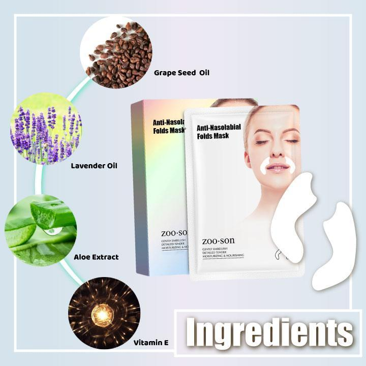 Anti-Nasolabial Fold Gel Mask