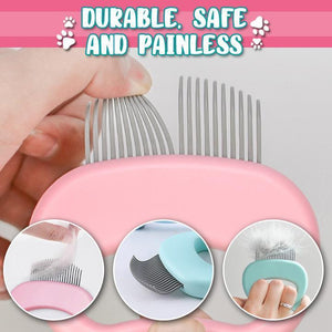 Pet Grooming Massage Shell Comb