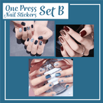 Load image into Gallery viewer, One Press Nail Stickers Sets