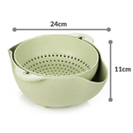 Load image into Gallery viewer, 2 In 1 Dual Kitchen Strainer