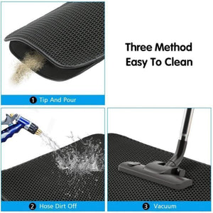 Double-Layered Cat Litter Mat