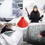 Load image into Gallery viewer, Cone-shaped Ice Removal Tool
