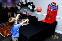 Basketball party activity