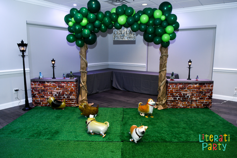 new york central park zoo party decorations
