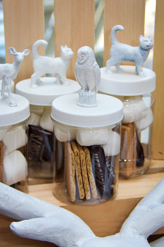 Hary Potter Party Favors Patronus Smore Kits