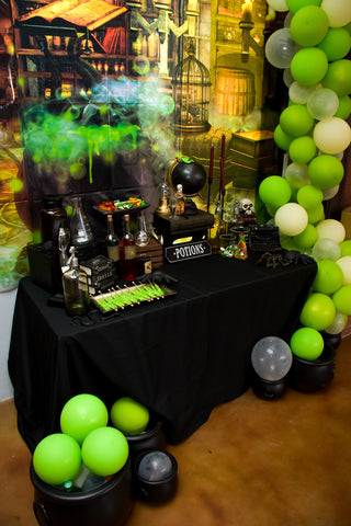 Harry Potter Halloween Party Potions Table