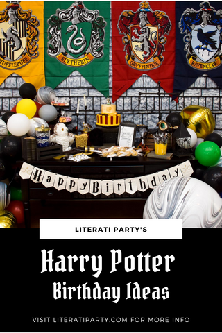 Harry Potter Birthday Party Ideas Blog