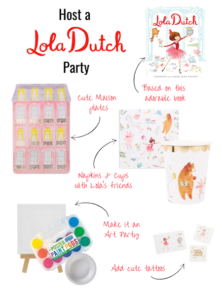 Lola Dutch Party Supplies