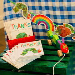 Very hungry caterpillar book party favors