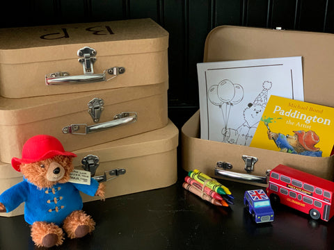 Paddington Suitcase Party Favors