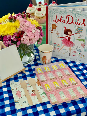 Lola Ducth Storybook Party Box