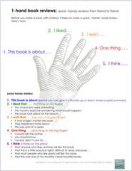One hand book review for kids