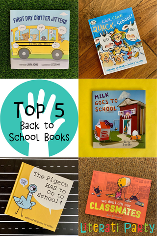 Top 5 back to school books