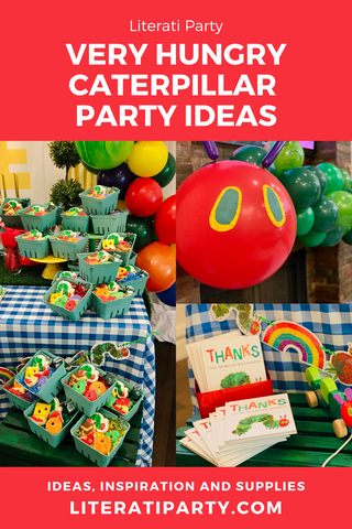 very hungry caterpillar 1st birthday party ideas