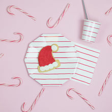 Load image into Gallery viewer, Frenchie Striped Napkins - Red
