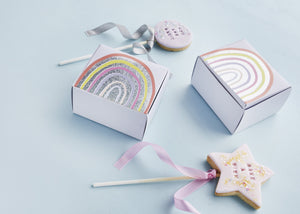 Rainbow Favor Boxes