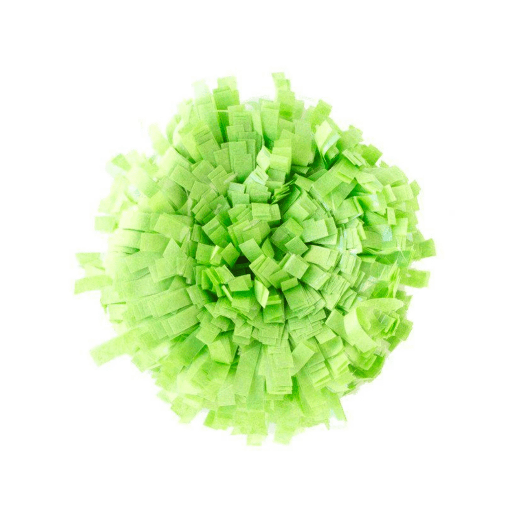 Tissue Festooning - Light Green