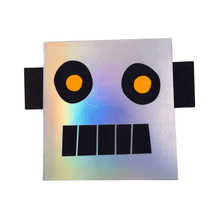 Load image into Gallery viewer, Robot Sticker & Sketch Book