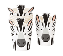 Load image into Gallery viewer, Party Animal Zebra Cups