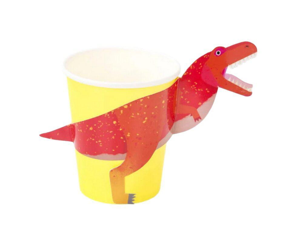 Party Dinosaur T-Rex Cups