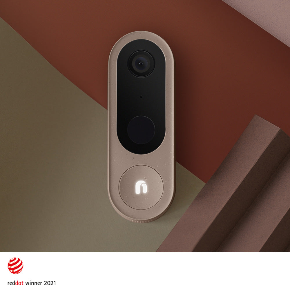 Nooie Cam Doorbell + Base Station with Chime Wins Prestigious Red Dot Design Award!
