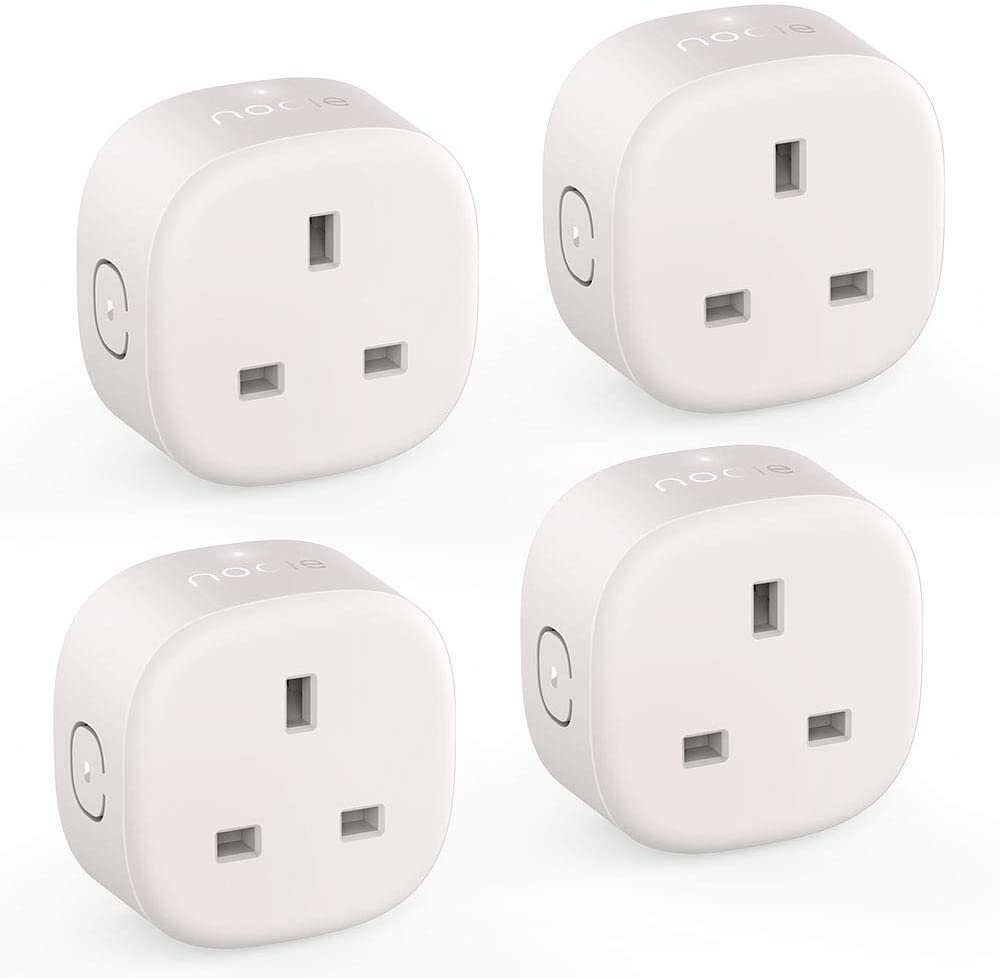 Nooie Smart Plug - 4 Packs-Smart Plug-Nooie-UK-Nooie Smart Home