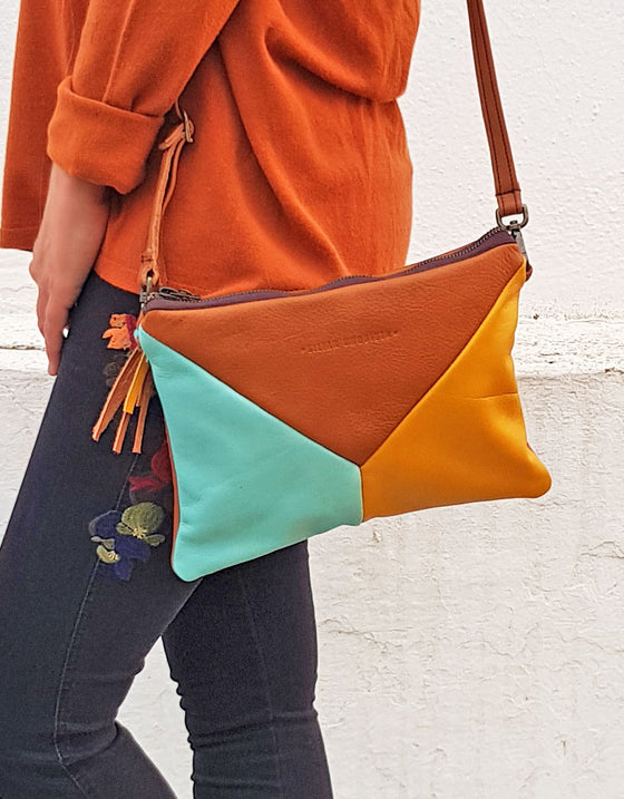 Brown Tangram Bag