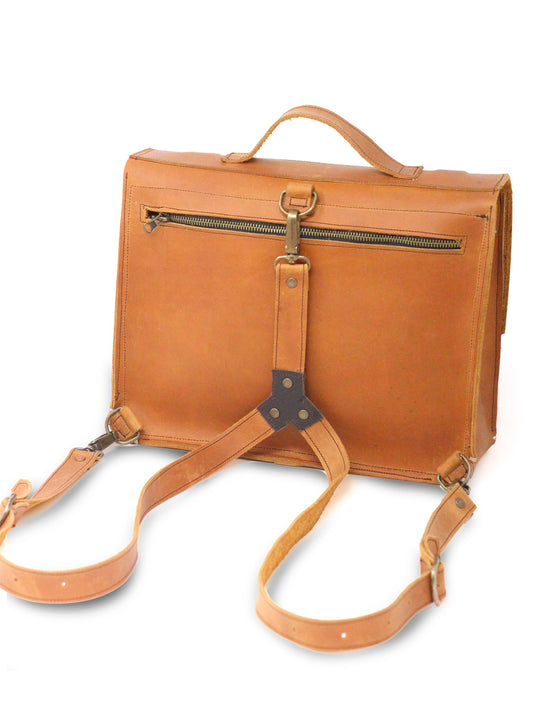 """Old School"" Briefcase/Backpack"
