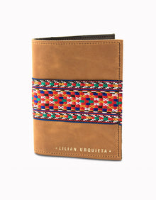 Brown Verne Passport Holder