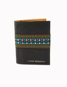Black Verne Passport Holder