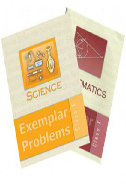 NCERT Science and Mathematics Exemplar Set for Class 10 - Latest edition as per NCERT/CBSE
