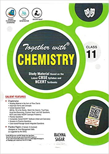 Together With Chemistry for Class 11th Study Material Hardcover
