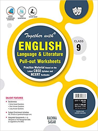 Together with English Language & Literature Pull-out Worksheets for Class 9 Paperback – 1 January 2020