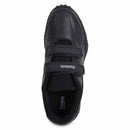 Reebok Black Velcro School Shoes