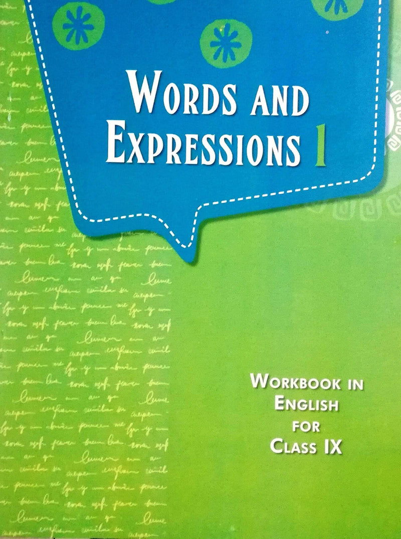 NCERT Words and Expressions Workbook in English for Class 9