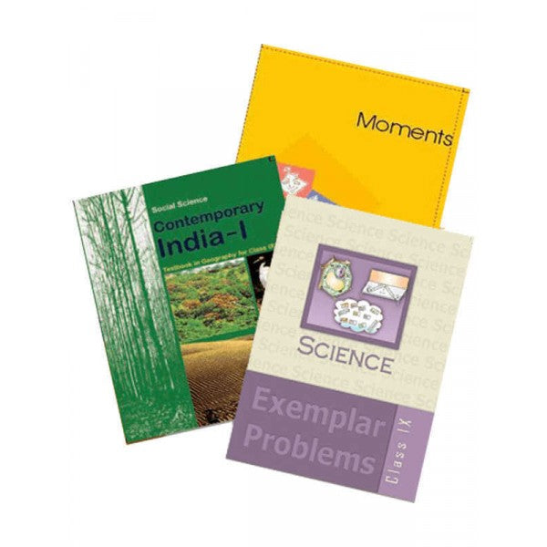 NCERT Complete Books Set + Exemplars for Class -9 (English Medium) - Latest edition as per NCERT/CBSE
