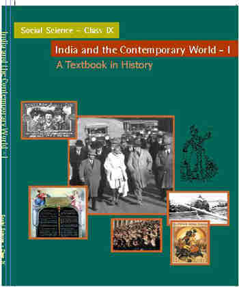 NCERT India & Comtemprary World  History for - Class 9